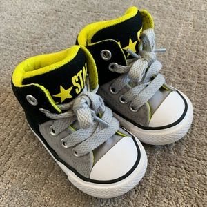 73316cadbda500 Kids  Baby Converse Sneakers on Poshmark
